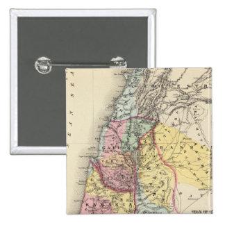 Palestine with Arabia Petraea 15 Cm Square Badge