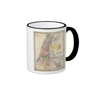 Palestine with Arabia Petraea Mug