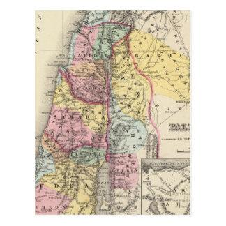 Palestine with Arabia Petraea Postcard