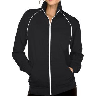 Palestine with short poem american apparel fleece track jacket