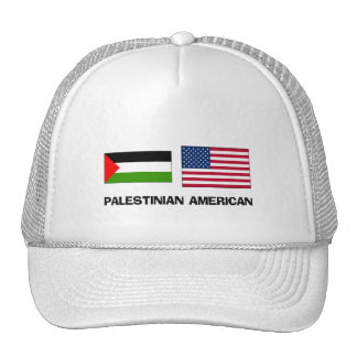 Palestinian American Mesh Hat