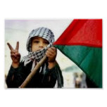 Palestinian Child for Peace Print
