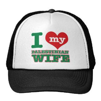 Palestinian designs cap