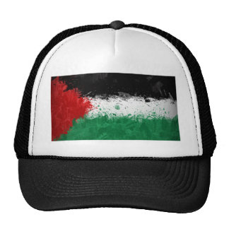 palestinian flag mesh hats