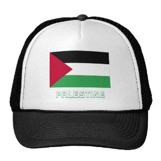 Palestinian Movement Flag with Name Trucker Hats