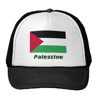 Palestinian Movement Flag with Name Mesh Hat