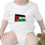 Palestinian Movement Waving Flag Baby Bodysuit