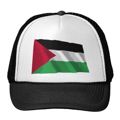 Palestinian Movement Waving Flag Mesh Hat