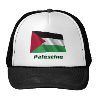 Palestinian Movement Waving Flag with Name Trucker Hat