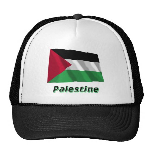 Palestinian Movement Waving Flag with Name Hats