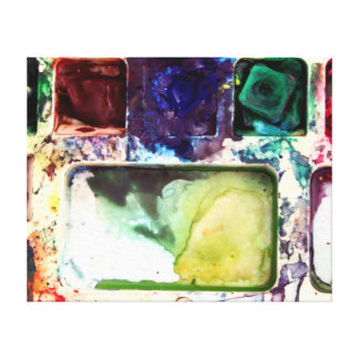 PALETTE COLORS Canvas Print