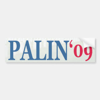 Palin '09 bumper sticker