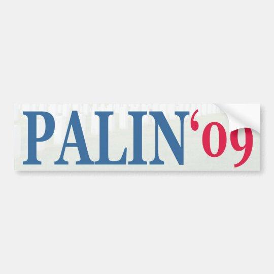 Palin '09 bumper sticker
