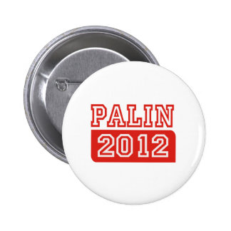 PALIN '12 T-shirts Button
