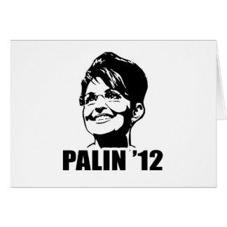PALIN '12 T-shirts Card