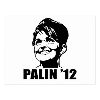 PALIN '12 T-shirts Postcard