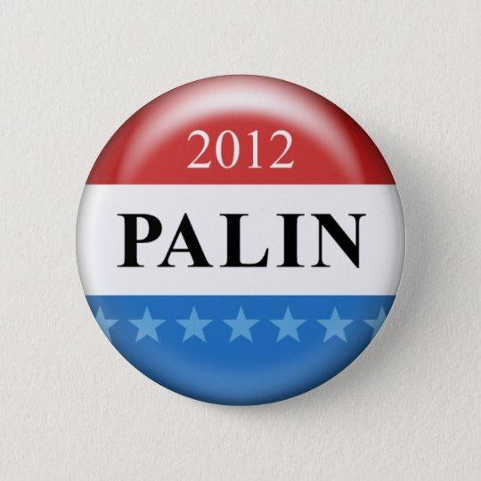 Palin 2012 6 cm round badge