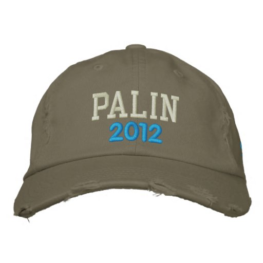 PALIN, 2012 - Customized Embroidered Hats