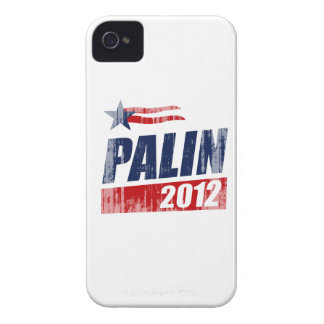 PALIN 2012 Faded.png iPhone 4 Case-Mate Case
