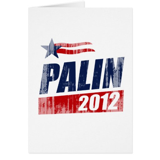 PALIN 2012 Faded.png Greeting Card