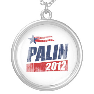 PALIN 2012 Faded.png Personalized Necklace