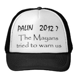 Palin 2012 hats