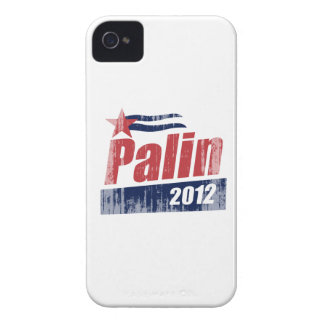 Palin 2012 Poster red Faded.png iPhone 4 Case-Mate Cases