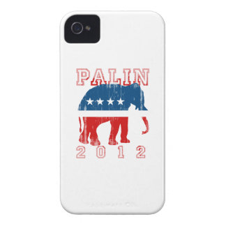 PALIN 2012 (Republican) Faded.png iPhone 4 Case-Mate Cases