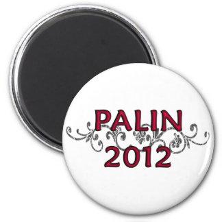 Palin 2012 Vine Round Magnet