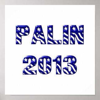 Palin 2013 Blue Poster