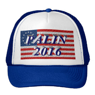 PALIN 2016 Cap, Blue 3D, Betsy Ross Hat