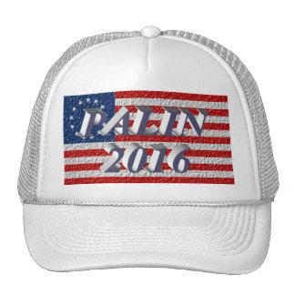 PALIN 2016 Cap, Blue-Gray 3D, Betsy Ross Hats