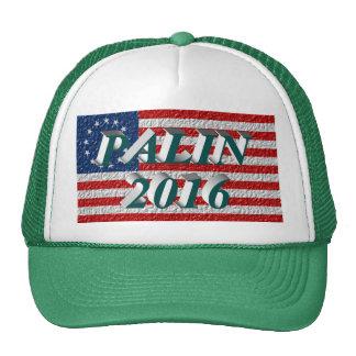 PALIN 2016 Cap, Blue-Green 3D, Betsy Ross Hat