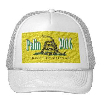 PALIN 2016 Cap, Blue-Green 3D, Gadsden Hat