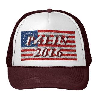PALIN 2016 Cap, Burgundy 3D, Betsy Ross Hats