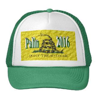 PALIN 2016 Cap, Green 3D, Gadsden Hats