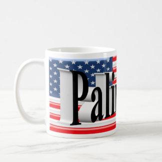 PALIN 2016 Mug, Black 3D, Old Glory