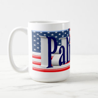 PALIN 2016 Mug, Blue 3D, Old Glory