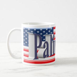 PALIN 2016 Mug, Blue-Gray 3D, Old Glory