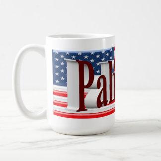 PALIN 2016 Mug, Burgundy 3D, Old Glory
