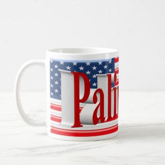 PALIN 2016 Mug, Light Red 3D, Old Glory