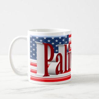 PALIN 2016 Mug, Red 3D, Old Glory