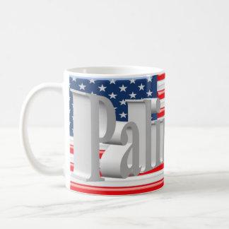PALIN 2016 Mug, White 3D, Old Glory