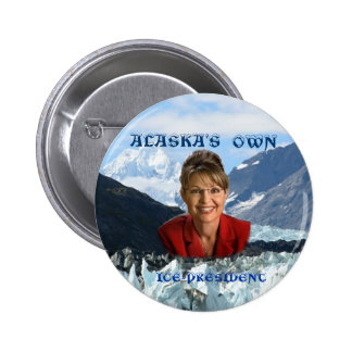 Palin Alaska's Own Button