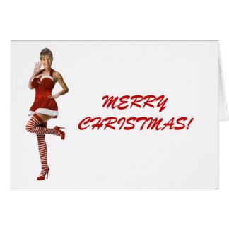 Palin Christmas(t shirt, xmas cards, buttons) Card