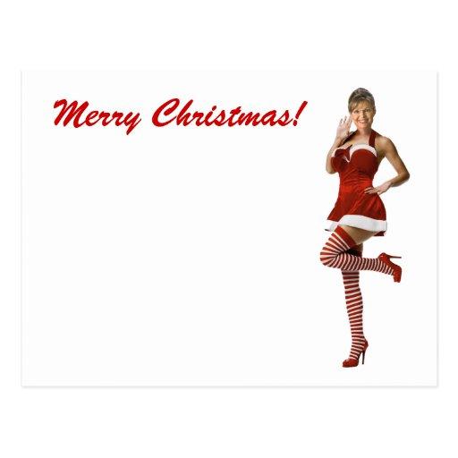 Palin Christmas(t shirt, xmas cards, buttons) Postcards