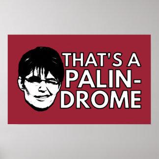 Palin Drome Poster