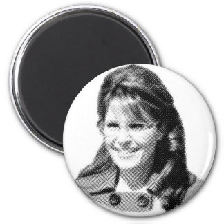 Palin Face Magnet