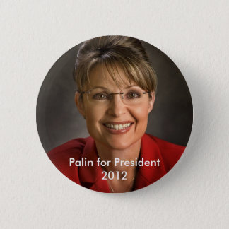 Palin for President 6 Cm Round Badge