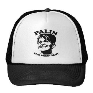 Palin for President Cap